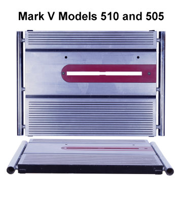 Mark V Models 505 and 510 Main Table