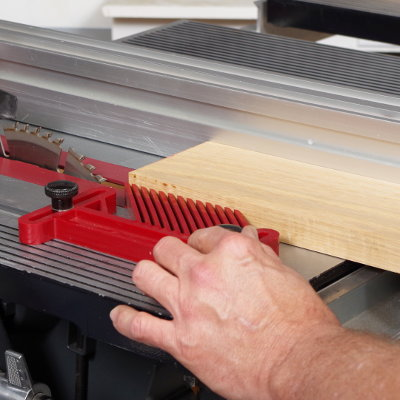 Install Featherboard To Hold Your Workpiece