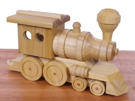 Toy Train Locomotive - a simple project you can complete in a weekend