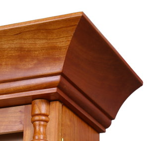 Finish sand component edges and surfaces for tight-fitting joinery