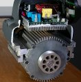 Powerful 1-3/4hp at 120v or 2hp at 240v DVR motor