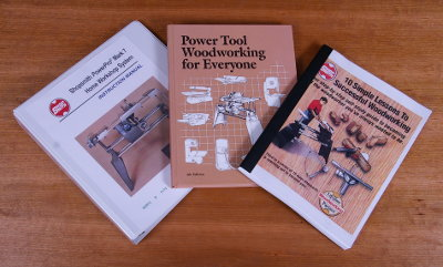 Owners Manual, Self-Study Course, Power Tool Woodworking Textbook
