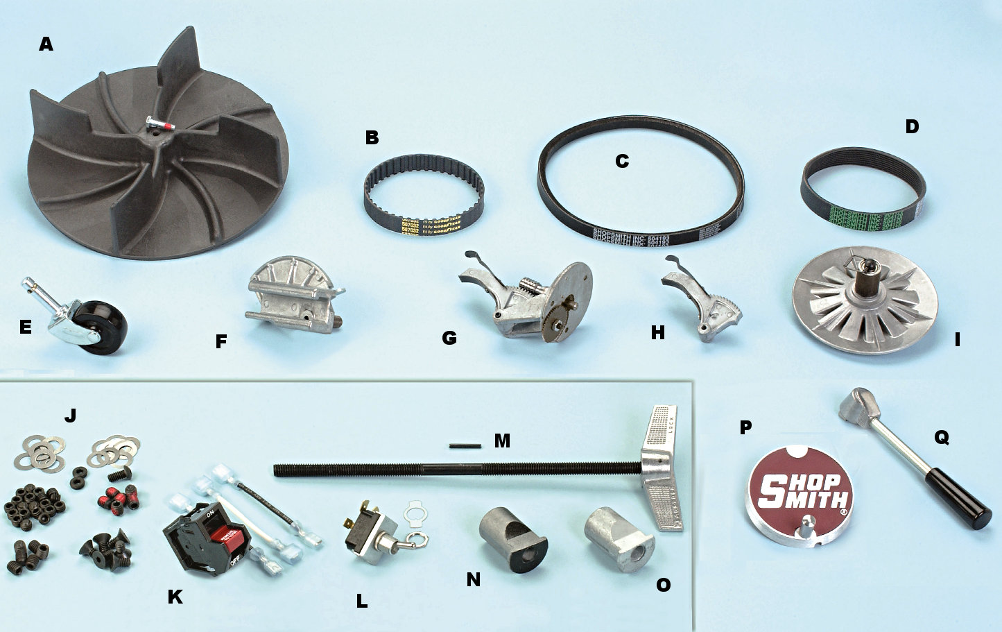 Shopsmith parts - Lookup BeforeBuying