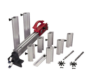 Larger Rip Fence, Direct Reading Rip Fence Scales, Wider Fence Straddler, Extruded Rails