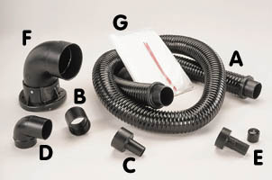Shopsmith Dust Collection System Accessories