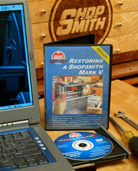 Restoring a Neglected Shopsmith MARK V CD/DVD