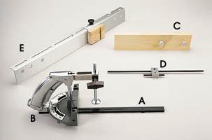 Miter Gauge and Accessories