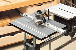 Full-Featured Router Table Maximizes Your Shop Space
