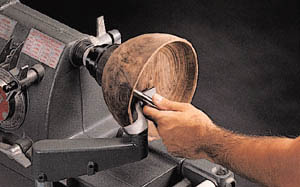 S-Shaped Tool Rest Especially for Bowl Turners