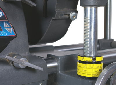 Shopsmith Adjustable Stop Collar Now Available With Optional Laminated Scale