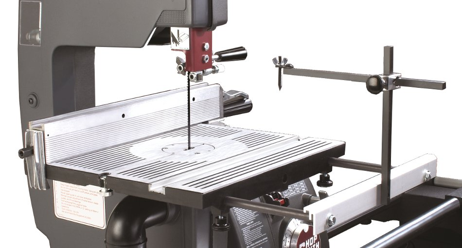 Shopsmith band saw fence Band saw table