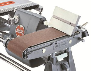 The Shopsmith Belt Sander -- A big, 6-inch wide belt and loads of great features help you eliminate hours of tedious hand sanding