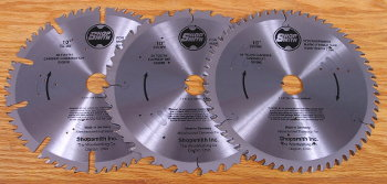 Carbide-Tipped Thin-Kerf Saw Blades Slice Smoothly Through the Hardest Woods