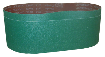 Amazing Performance from Ceramic Abrasive Sanding Belts