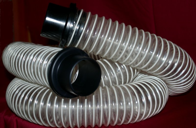 Premium See-Thru Dust Collection Hose