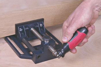Handle Locks at 90° Angle For Added Leverage