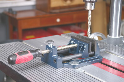 Drill Press Vise is a Big Help For Holding Small Workpieces