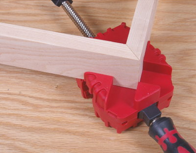 45° Edge Clamping - Mitered Joints