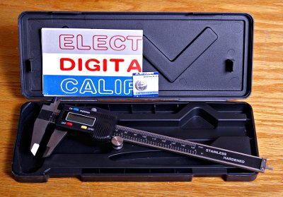 Affordable 6-Inch Digital Caliper Reads in Thousandths and Millimeters