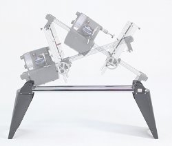 Double-Tilt Provides the Flexibility of Both Over and Under-Table Operation