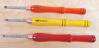 Extraordinary Carbide-Cutter Wood Turning Chisels