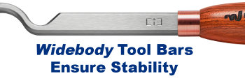 Flat-Bottomed Widebody Tool Bars For Matchless Stability
