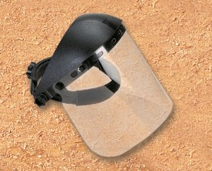 Flip-Up Safety Face Shield