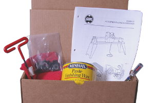 Shopsmith Help Kit - Items you need... where you can find them