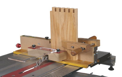 The I-Box will work with your MarkV or Mark7 Table Saw... or with the under-table routing function of your Mark7