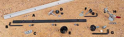 Shopsmith Jig and Fixture Components