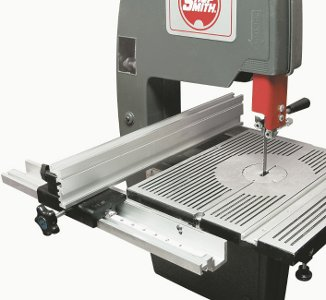 Enjoy Added Safety, Precision and Bandsawing Convenience