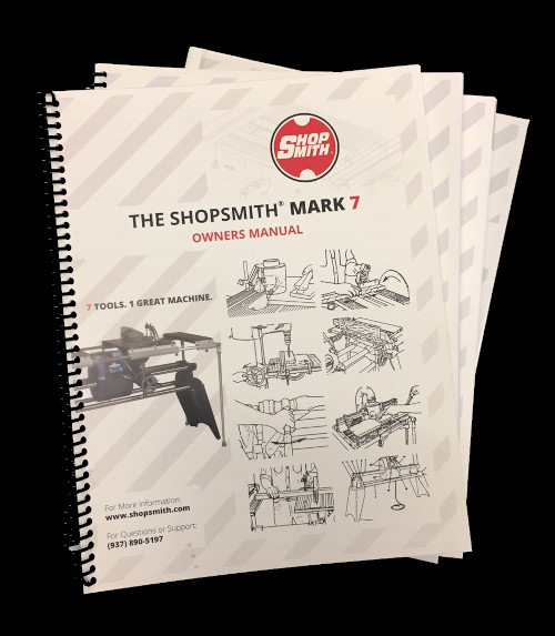 Comprehensive Shopsmith Owners Manuals