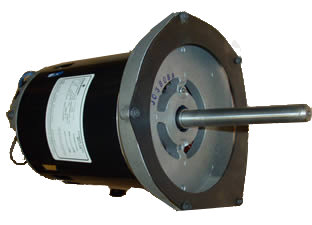 More Powerful 1-1/8 HP Motor