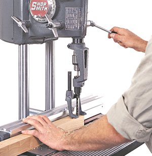 Shopsmith Mortising Jig
