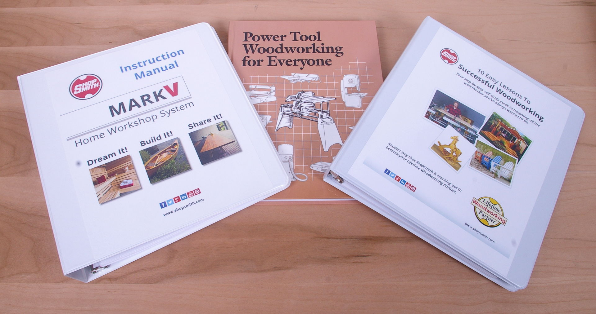 Shopsmith Printed Owners Manuals Mark V Wiring Diagram Get The Full Set 556073