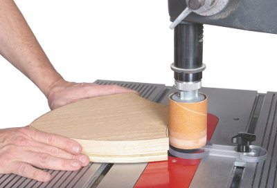 Pattern Sanding Guide Package Makes Drum Sanding Multiple Identical Project Components To the Exact Size and Shape a Snap!