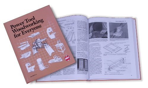 Power Tool Woodworking For Everyone Textbook