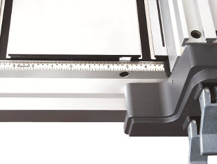 Precision Stainless Steel Scale Graduated in 32nds and 16ths