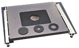 Patented Woodhaven Mounting Plate With 3 Inserts