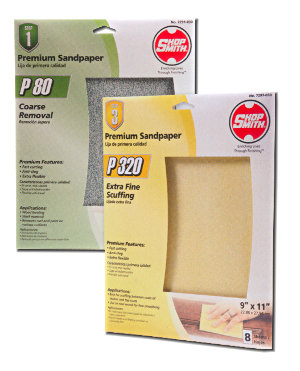 Premium Sanding Sheets Will Cut 4 Times Faster and Will Last Up To 4 Times Longer Than Ordinary Sandpaper!