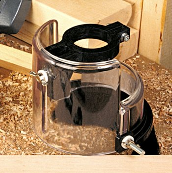 See-Through Shield Improves Safety and Dust Collection Efficiency