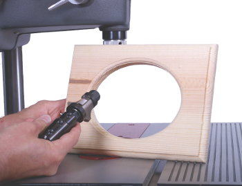 Say Goodbye To Burnt Edges When Shaping Profiles of Curved Workpieces