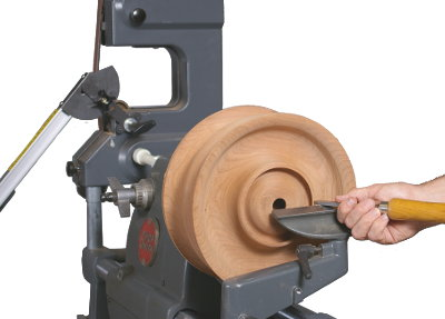 Set it up for Lathe Turning and Strip Sander Chisel Sharpening