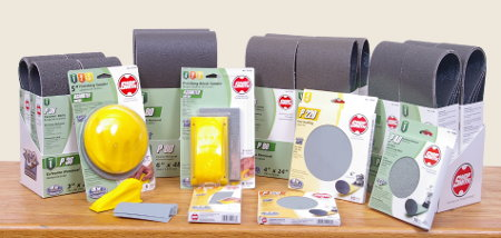 Shopsmith G2 Ceramic Abrasives - Cut 4 Times Faster - Last 4 Times Longer