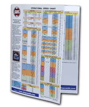 This Laminated Chart Puts a Wealth of Time-Saving Workshop Information Right At Your Fingertips