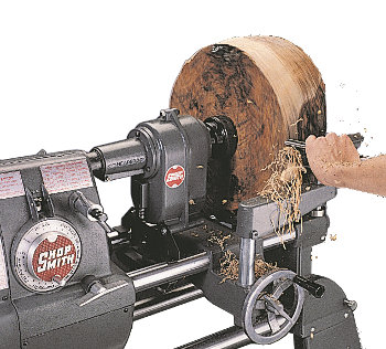Shopsmith Speed Reducer - as slow as 100 rpm for large diameter turning