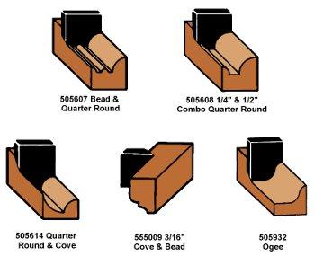 5-Piece Starter Shaper Cutter Set