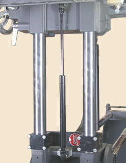 New Gas Spring Table-Raiser Makes Easy Work of Drill Press Table Lifting and Lowering