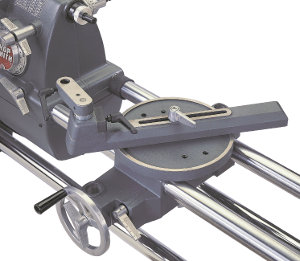 Rock Solid Lathe Tool Support and Triple-Jointed Reach