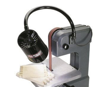Shopsmith Utility Light Illuminates Your View of Strip Sanding Operations
